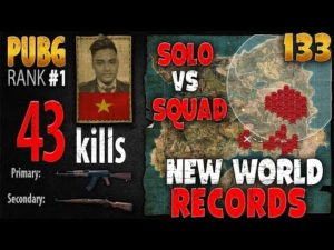 Image [Eng Sub] PUBG Rank 1 – Rip113 – 43 kills [AS] Solo vs Squad – PLAYERUNKNOWN'S BATTLEGROUNDS #133