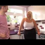 Image blonde bbw kitchen